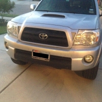 Front End Damage - 2007 Toyota Tacoma - After